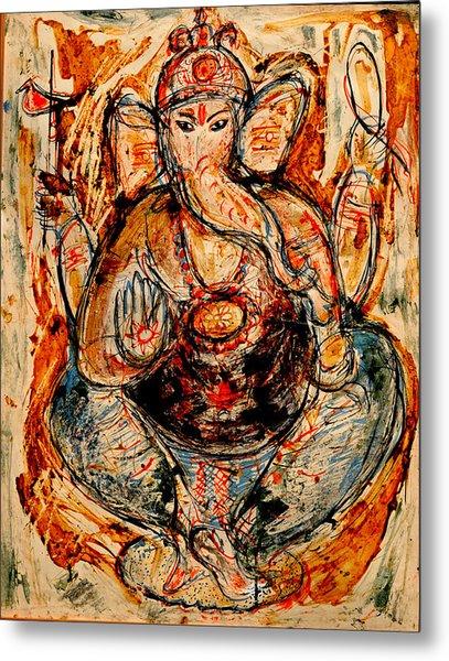 Ganesh- 7 Metal Print