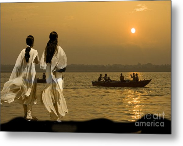 Ganges Every Day Metal Print