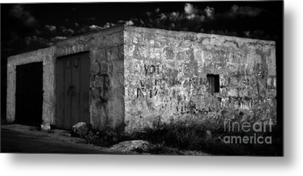 Metal Print featuring the photograph Garage by Julian Cook