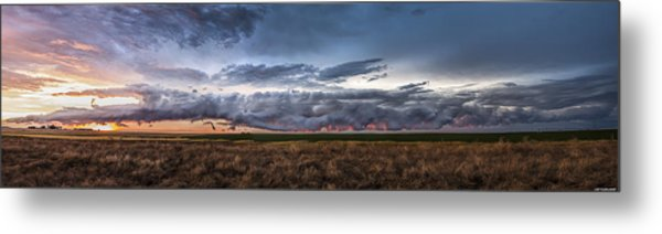 Garden City Pano Metal Print
