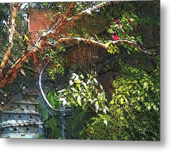 Garden Climb  Metal Print
