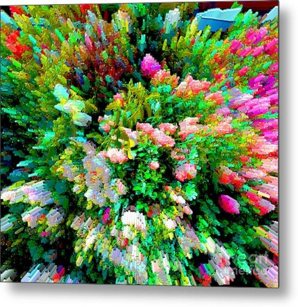 Garden Explosion Metal Print
