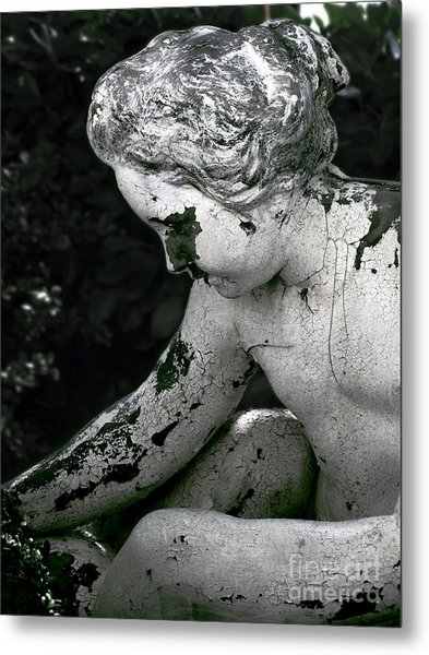 Garden Nymph Metal Print by Colleen Kammerer