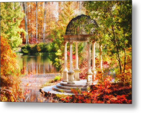 Garden Of Beauty Metal Print