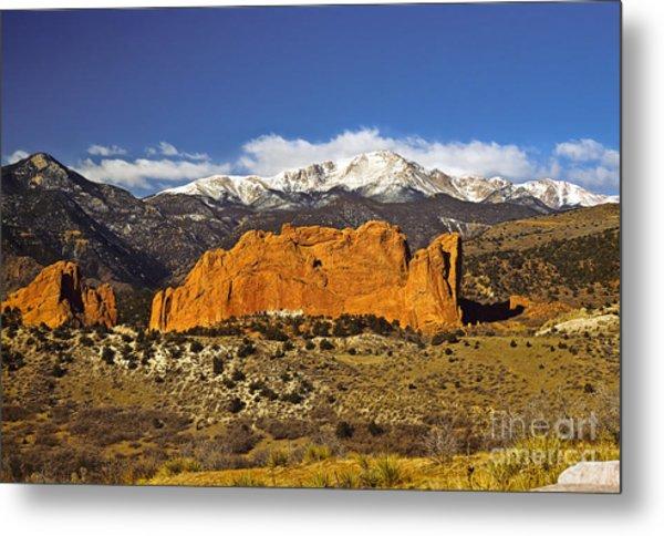 Garden Of The Gods - Colorado Springs Metal Print