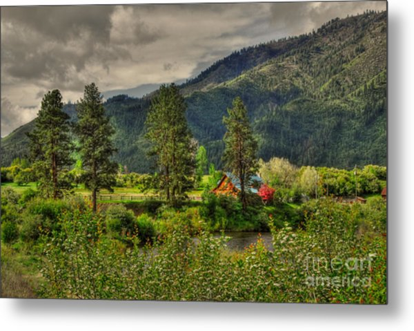 Garden Valley Metal Print