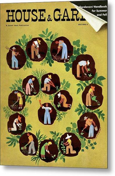 Gardeners And Farmers Metal Print