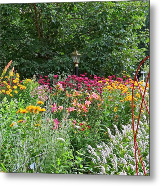 Gardens 109 Metal Print by Patsy Pratt