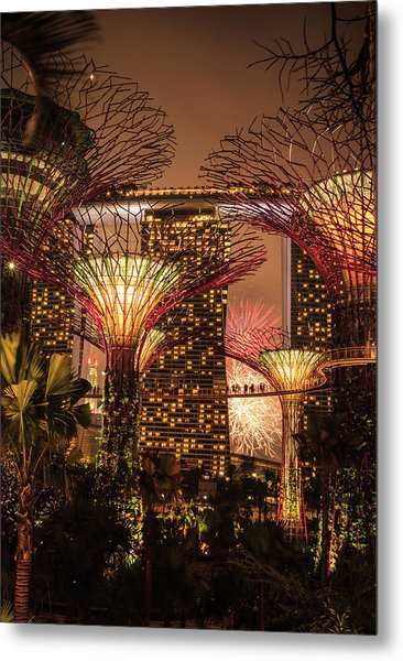 Gardens By The Bay Metal Print
