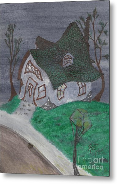 Gaslight Whimsy Metal Print by Robert Meszaros