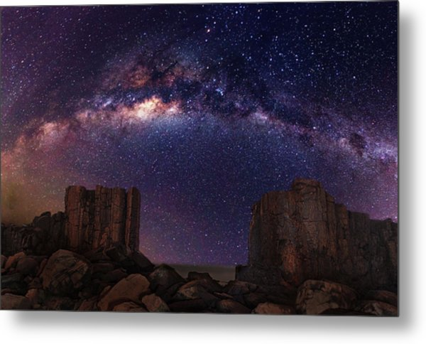 Gate To Heaven Metal Print by Wolongshan