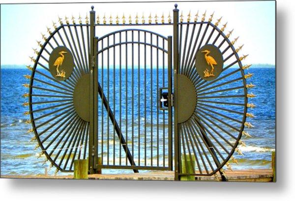 Gate To Paradise Metal Print