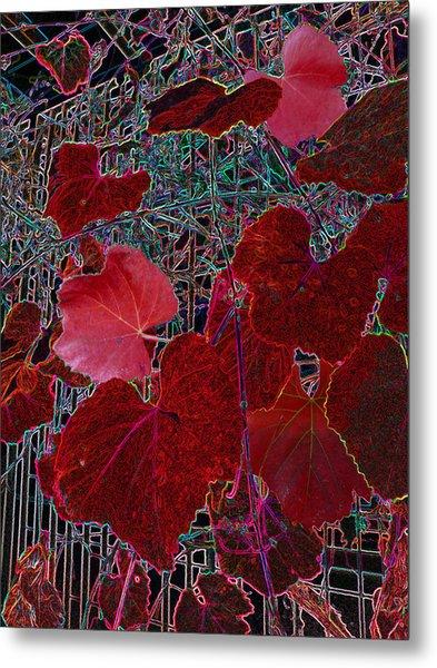 Gated Nature Metal Print
