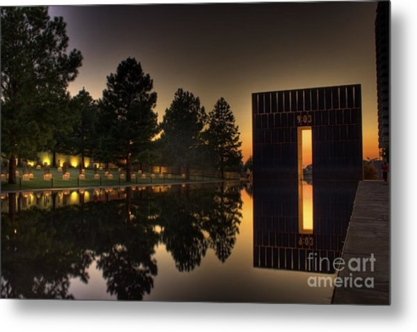 Gates Of Time Metal Print