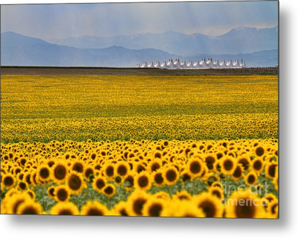 Gateway To The Rockies Metal Print