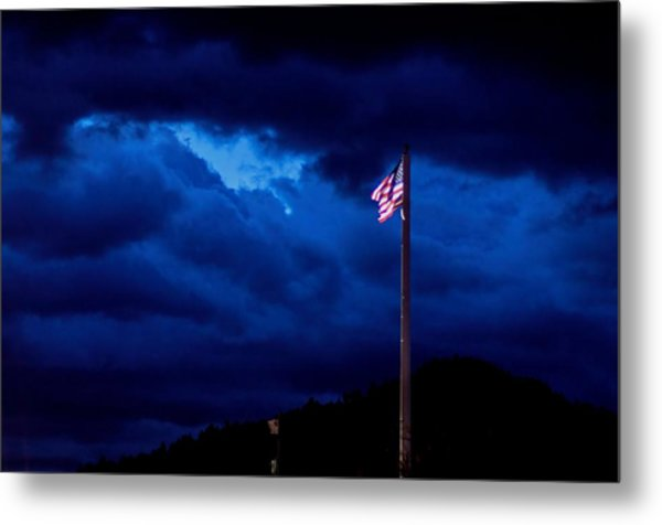 Gave Proof Through The Night That Our Flag Was Still There. Metal Print
