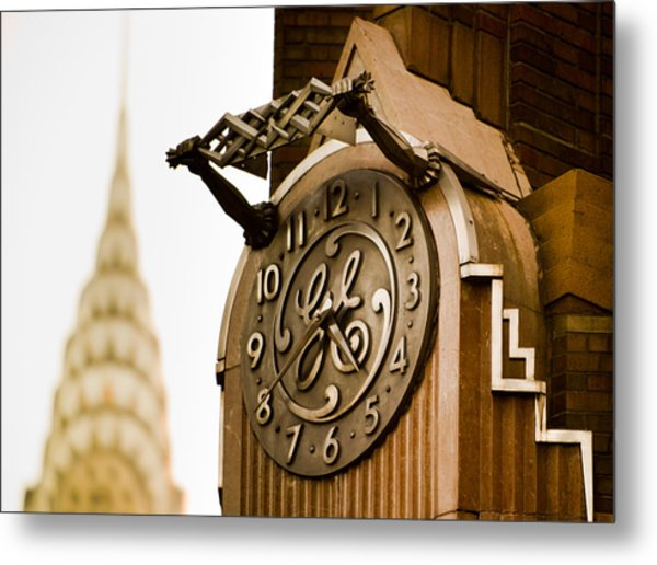 General Electric Building 2 Metal Print
