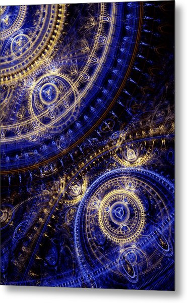 Gears Of Time Metal Print