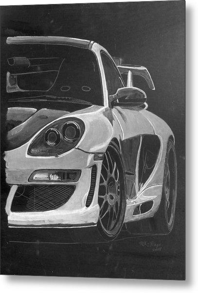 Gemballa Porsche Left Metal Print