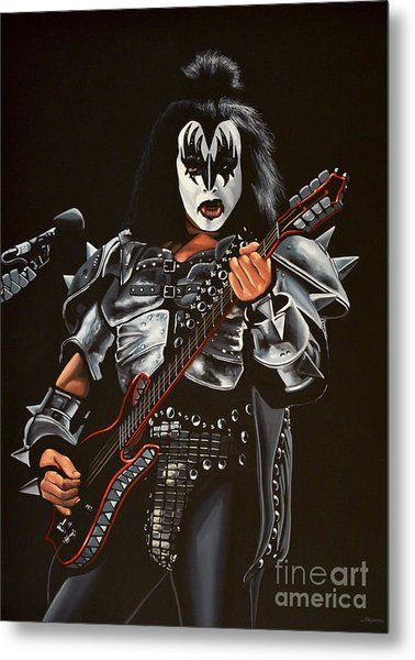 Gene Simmons Of Kiss Metal Print