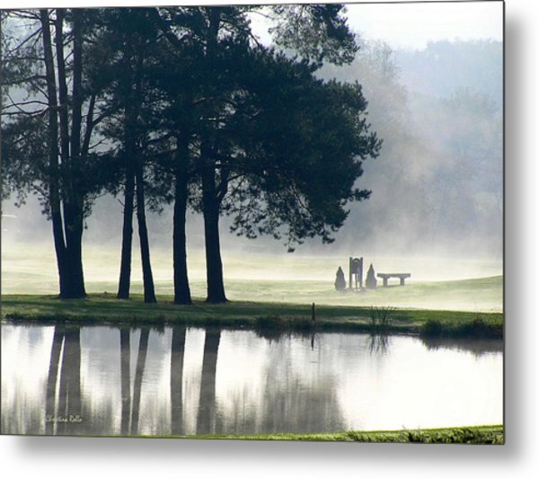 Genegantslet Golf Club Metal Print