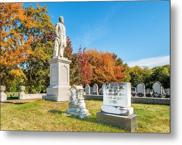 General Hiram G Berry Monument Metal Print by Tim Sullivan