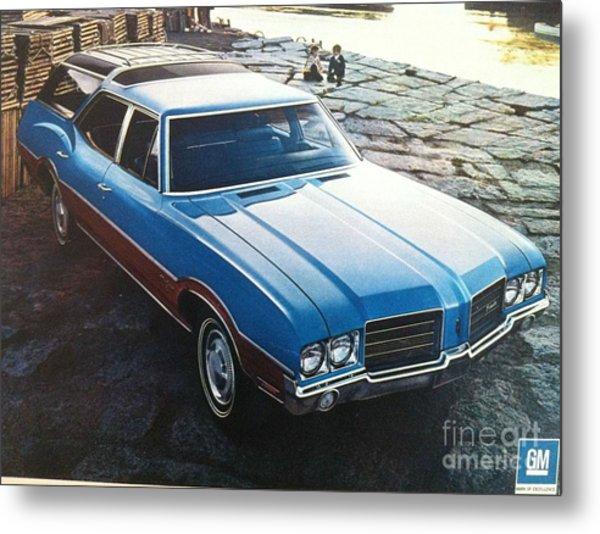 General Motors Posters Metal Print
