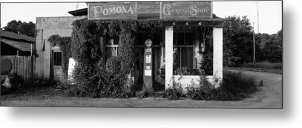 General Store, Pomona, Illinois, Usa Metal Print