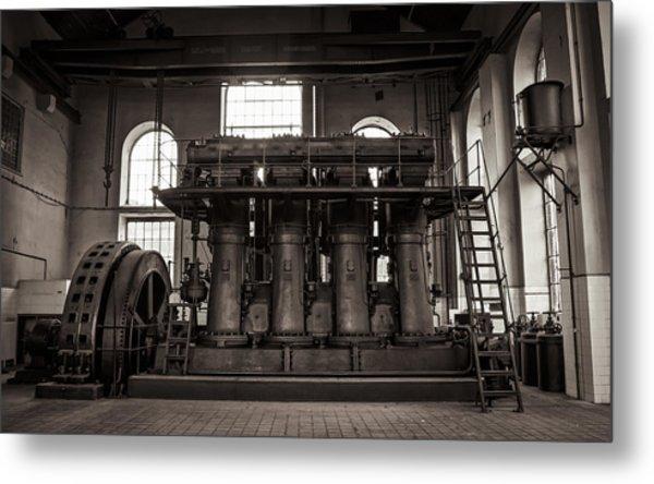 Generator Metal Print by Akos Kozari