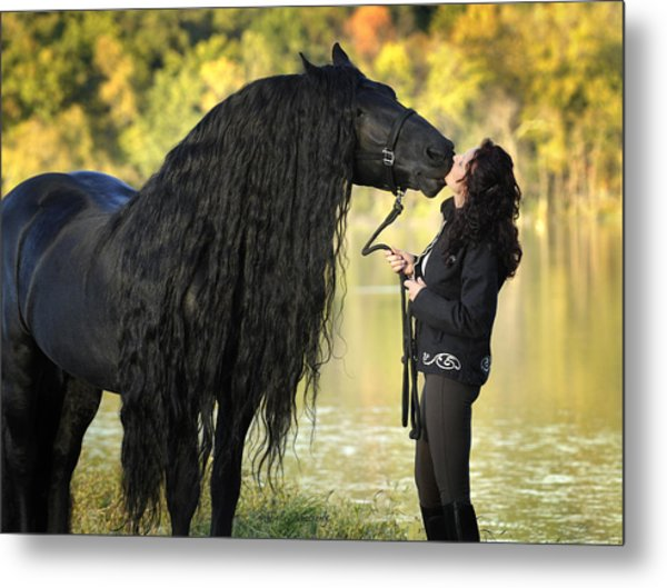 Gentle Giant Frederik The Great Metal Print