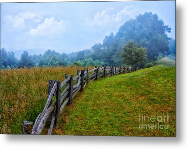 Gentle Morning - Blue Ridge Parkway I Metal Print