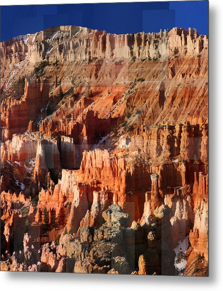 Geology Triptych - Three Metal Print
