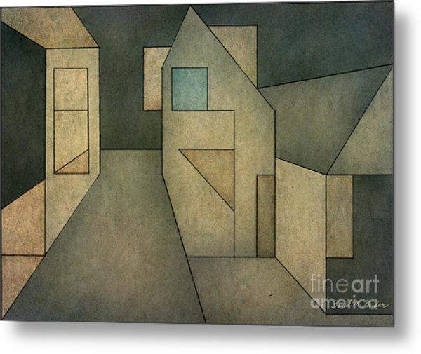 Geometric Abstraction II Metal Print