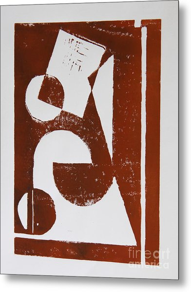 Geometry II Metal Print by Christiane Schulze Art And Photography