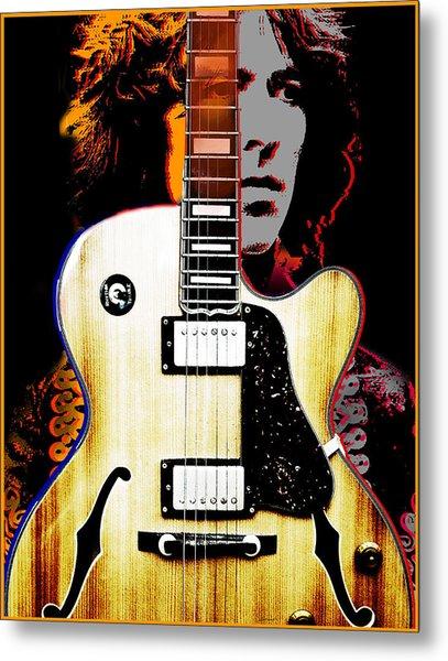George Harrison Metal Print by Larry Butterworth