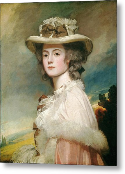 George Romney, Mrs Metal Print by Quint Lox