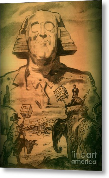 George Washington At His Best Metal Print
