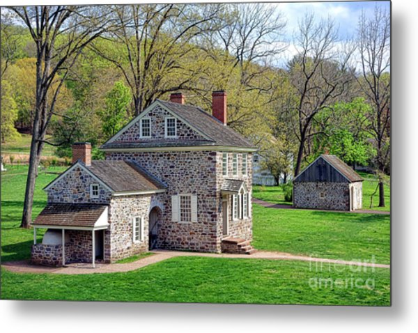 George Washington Headquarters At Valley Forge Metal Print