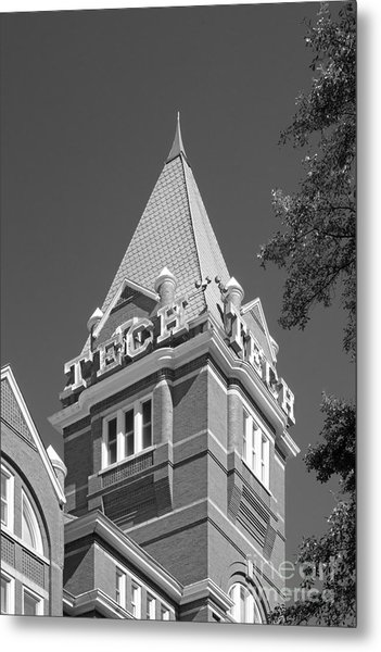 Georgia Institute Of Technology Evans Administration Building Metal Print