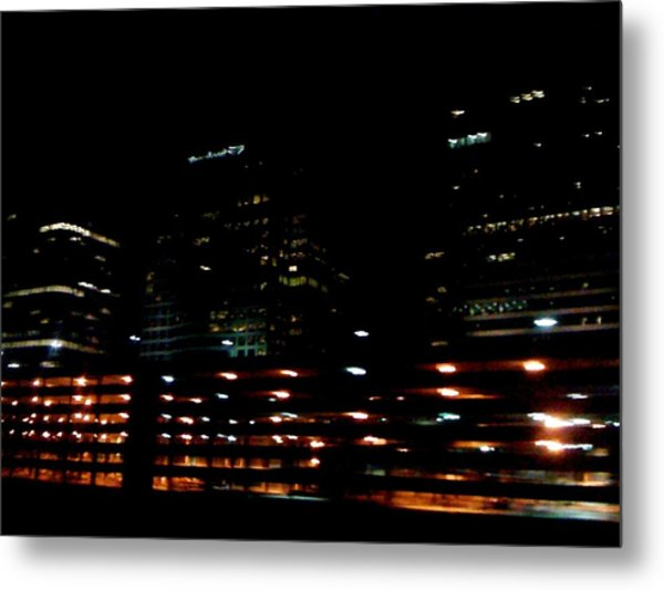 Georgia Lights Metal Print