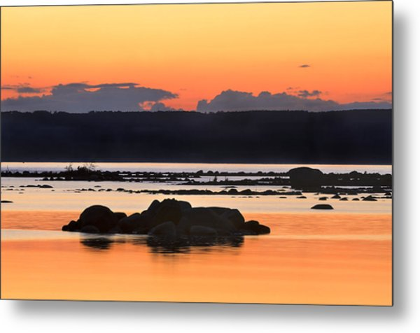 Georgian Bay Sunset-1 Metal Print