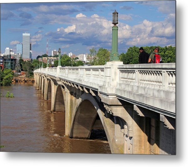 Gervais Street Bridge 1 Metal Print