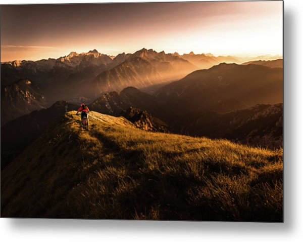 Get Out And Explore Metal Print