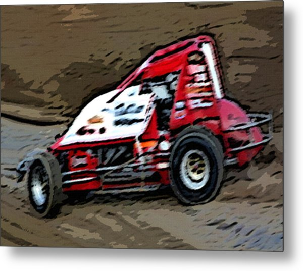 Gettin' With It In The Dirt Metal Print