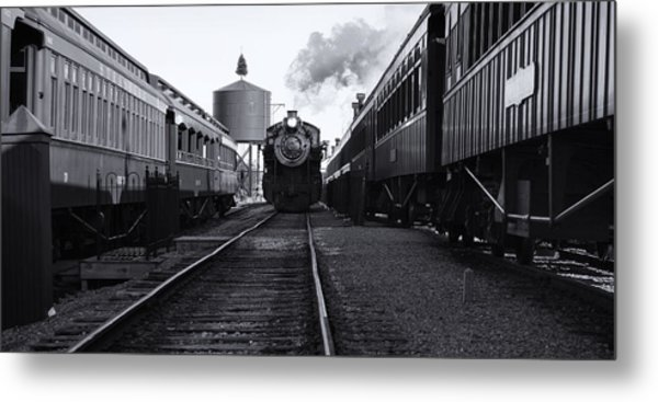 Metal Print featuring the photograph Getting Water by Brad Brizek