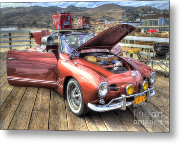 Ghia On Vacation Metal Print