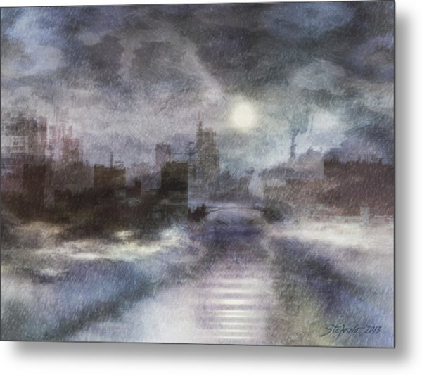 Ghost Country Metal Print