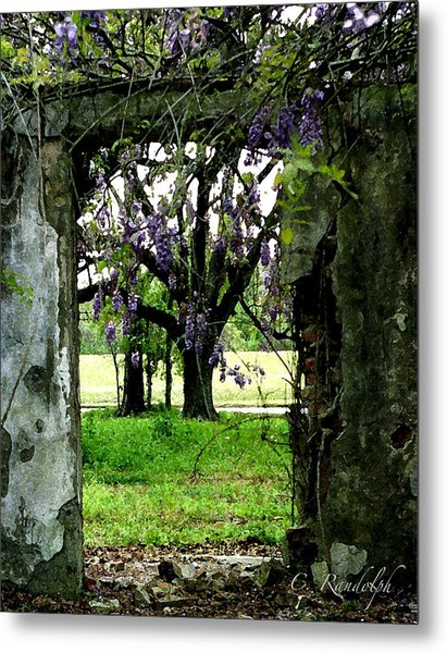 Ghost Near The River Metal Print