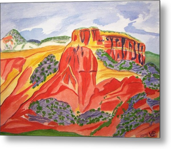 Ghost Ranch New Mexico Metal Print