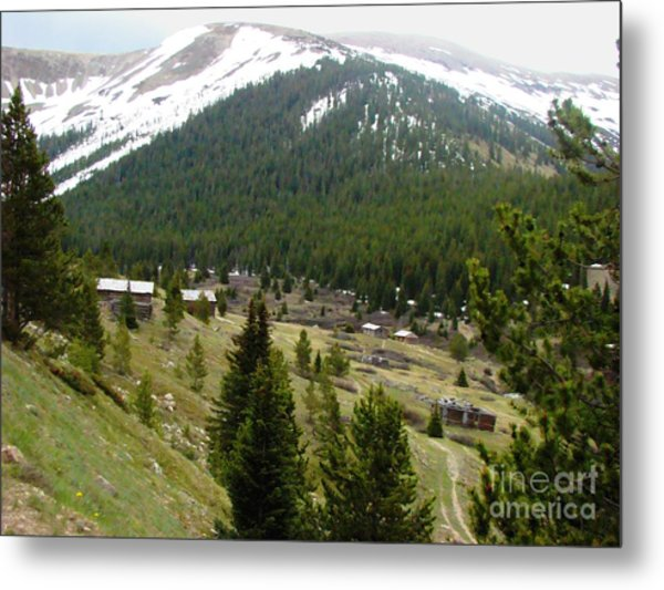 Ghost Town Metal Print by Stephen Schaps